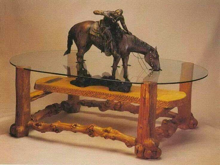Horse Statue Coffee Table