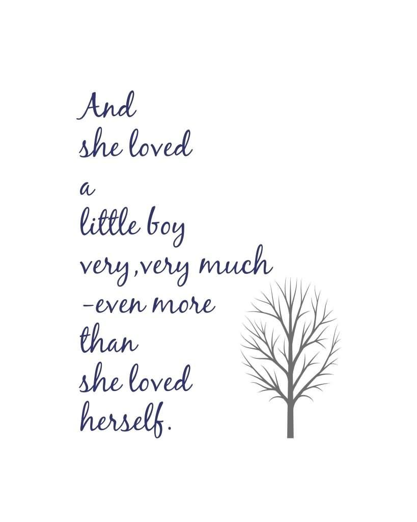And She Loved A Little Boy Very Very -Love Quotes #littleboyquotes