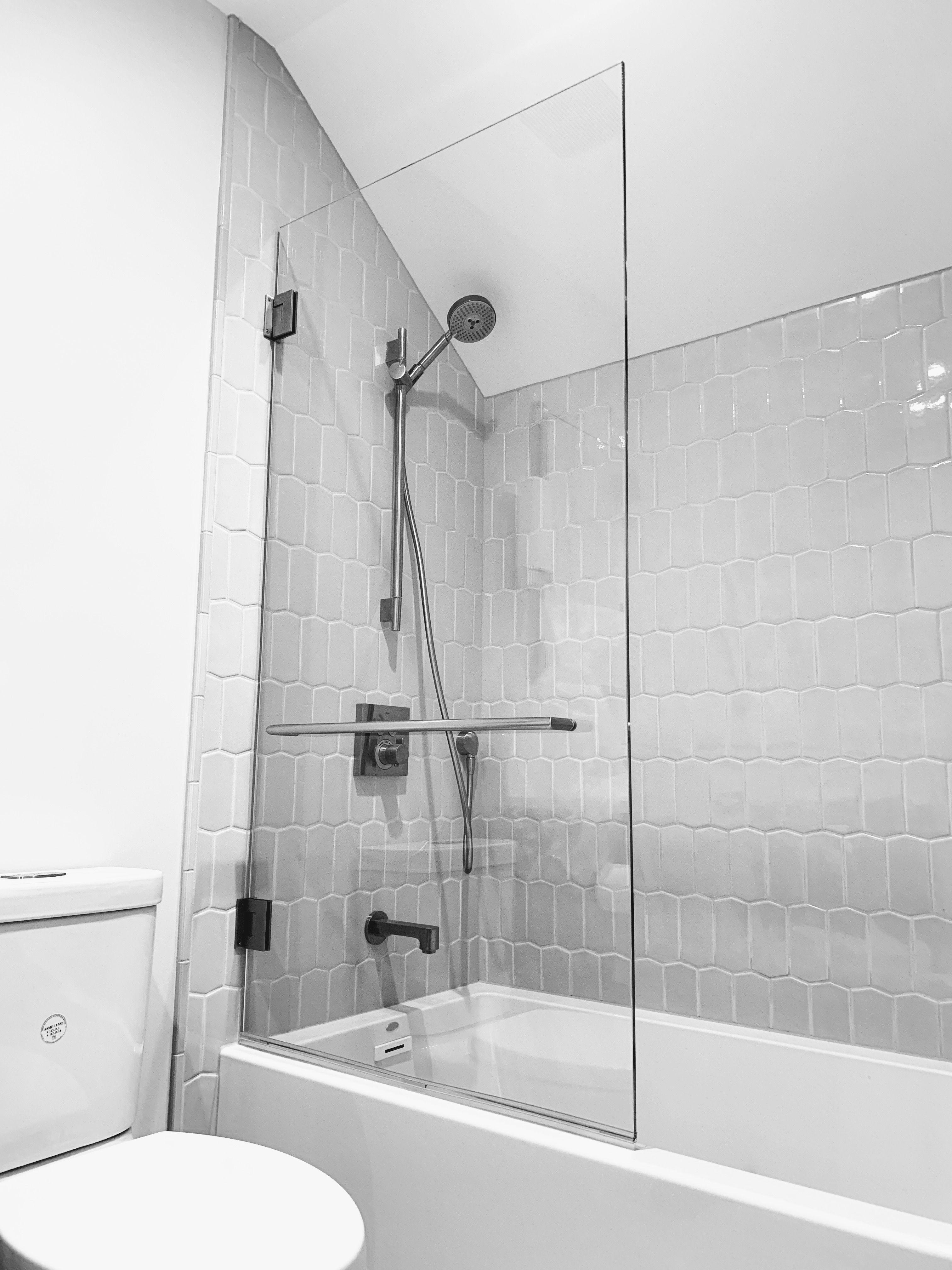 Custom Glass Splash Panel Shower Doors For Bathtub Ultimate Glass