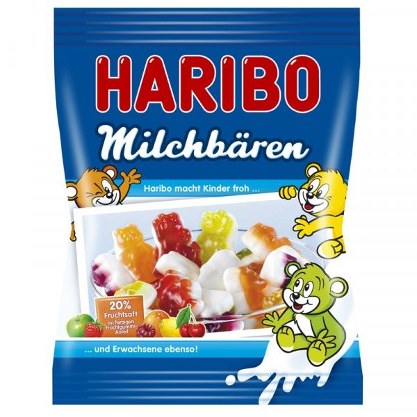 Die neuen HARIBO Milchbären stehen für die besondere ...