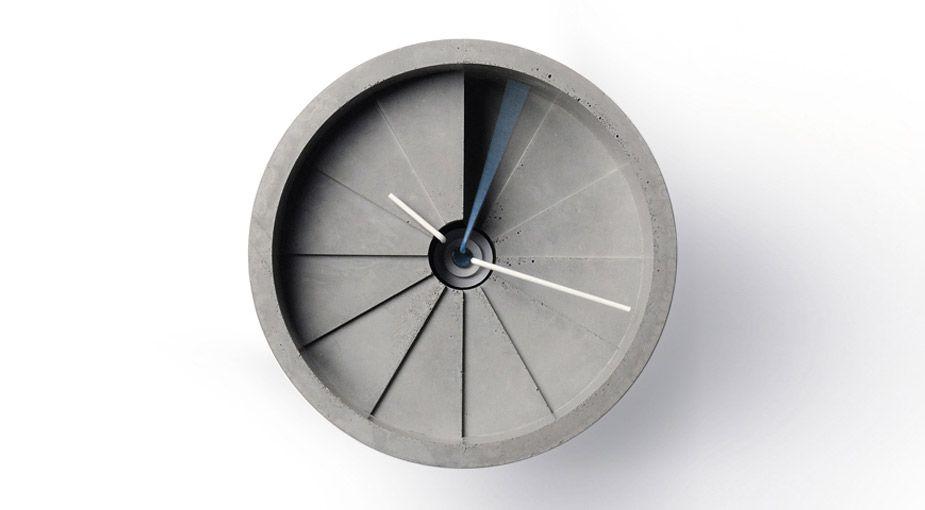4th Dimension Concrete Wall Clock