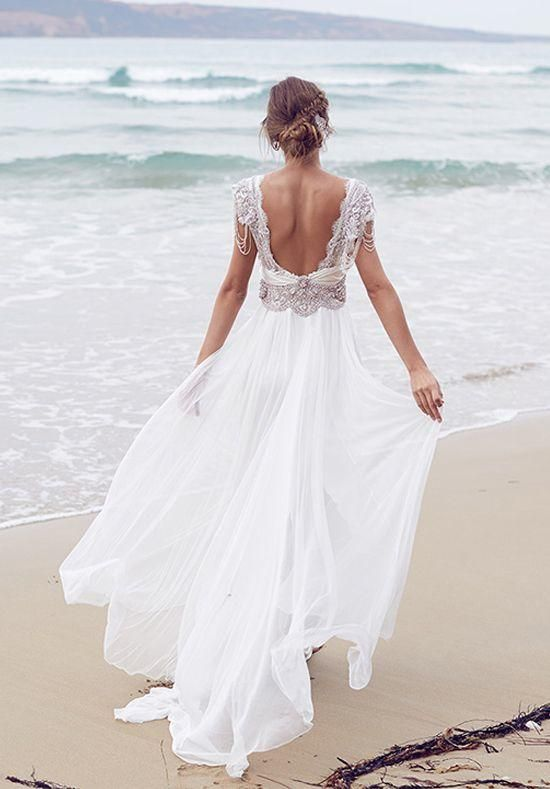 57ac085e8a Casual Beach Wedding Dresses To Stay Cool