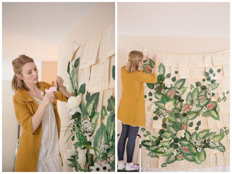 Making A Diy Garden Wedding Ceremony Backdrop