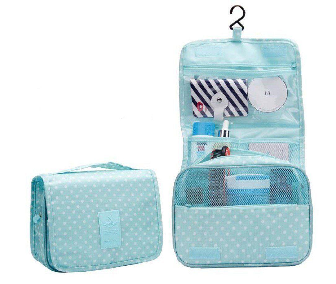 f5b46baa11b9 YABINA Portable Hanging Toiletry Bag/ Portable Travel Organizer ...