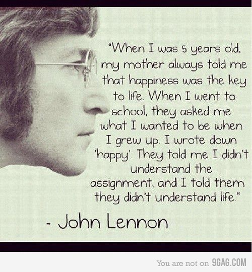 Cute Inspirational Quotes, John Lennon Quotes