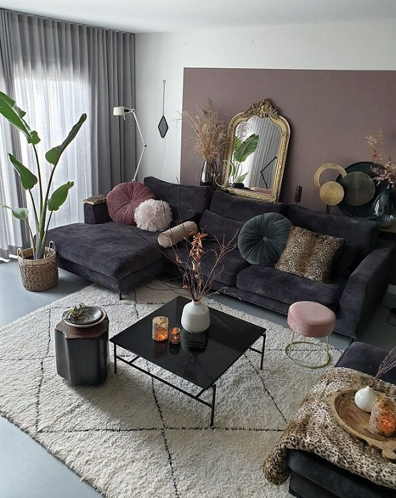 interieurinspiratie! Hoe mix je verschillende woonstijlen tot een eclectisch interieur #woonkamerinspiratie
