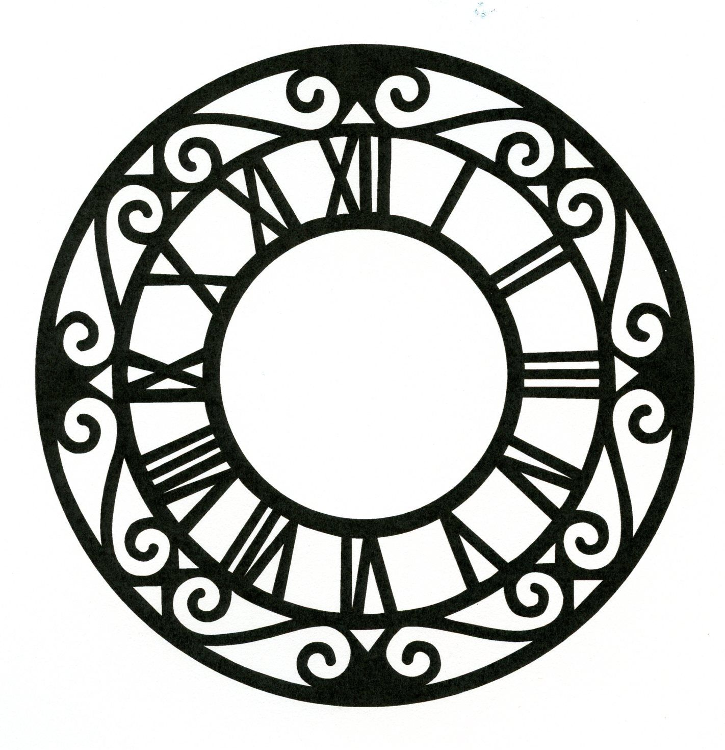 rubber stamp clocks - Google Search | paper love 2 | Pinterest ...