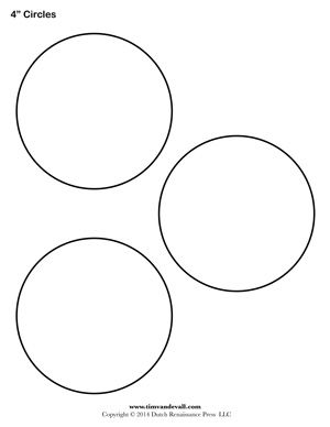 Circle Templates Blank Shape Templates Free Printable Pdf Circle Template Free Stencils Printables Templates Stencils Printables Templates