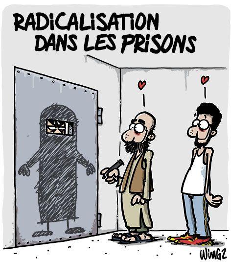 Radicalisation dans les prisons   Humour, Humour noir et Humour actualité