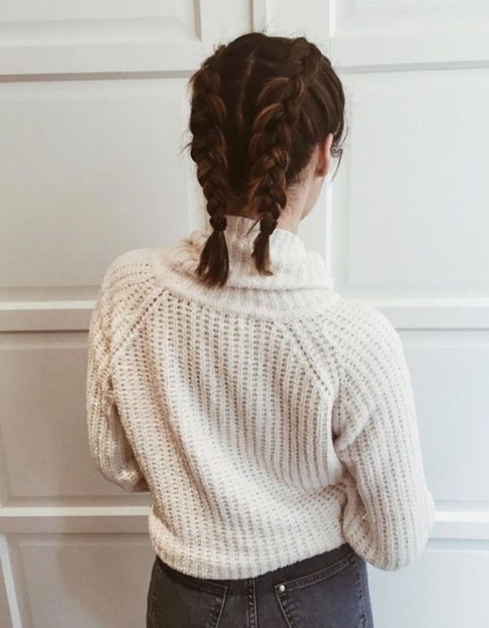 french braids on short hair