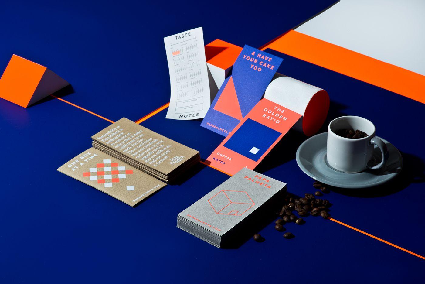 Papa Palheta Brand Experience Kit on Behance