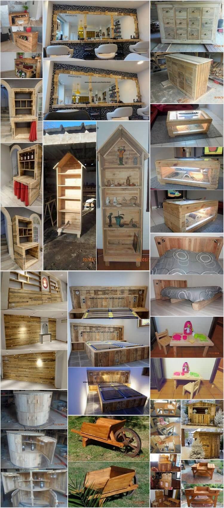 Clever Ways to Reuse Old Wooden Pallets | Diy palette, Holzpaletten ...