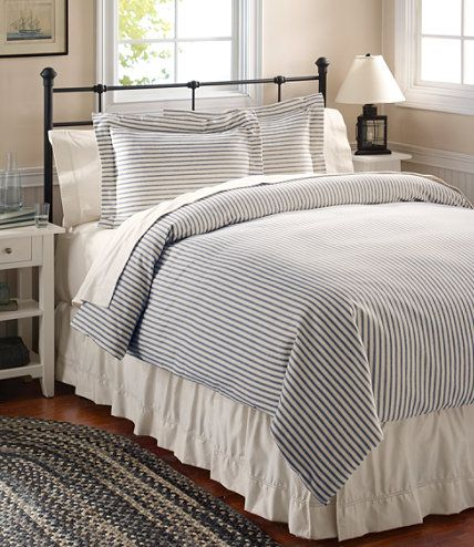 Ultrasoft Comfort Flannel Comforter Cover Stripe Comforter Covers Free Shipping At L L Bean Bed Comforter Sets Comforters Home