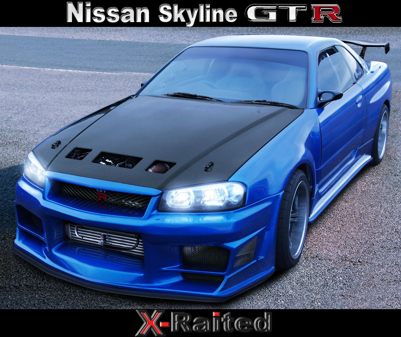 Nissan Skyline Gtr R34 El GT R R34 Fue Vendido En El Mercado Japonés Desde