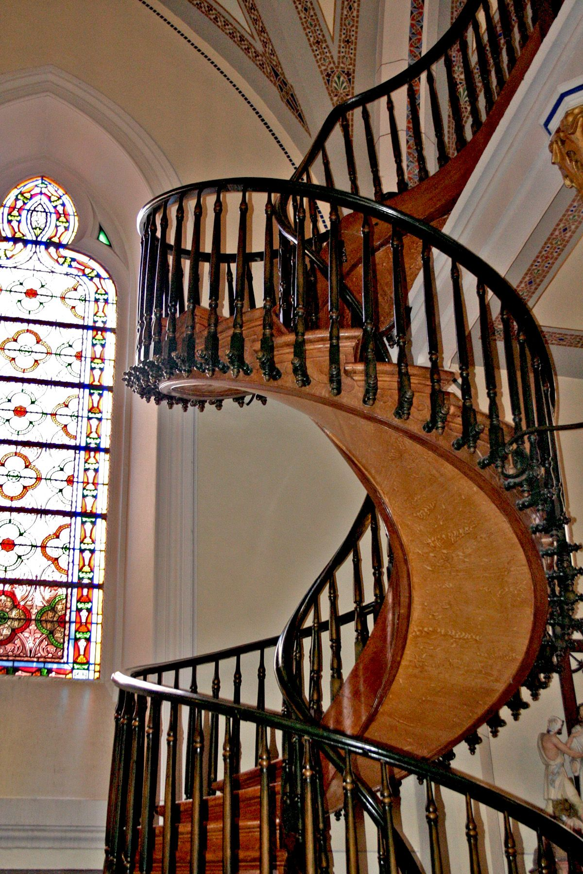 Best Santa Fe New Mexico Famous Staircase In The Loretto 640 x 480