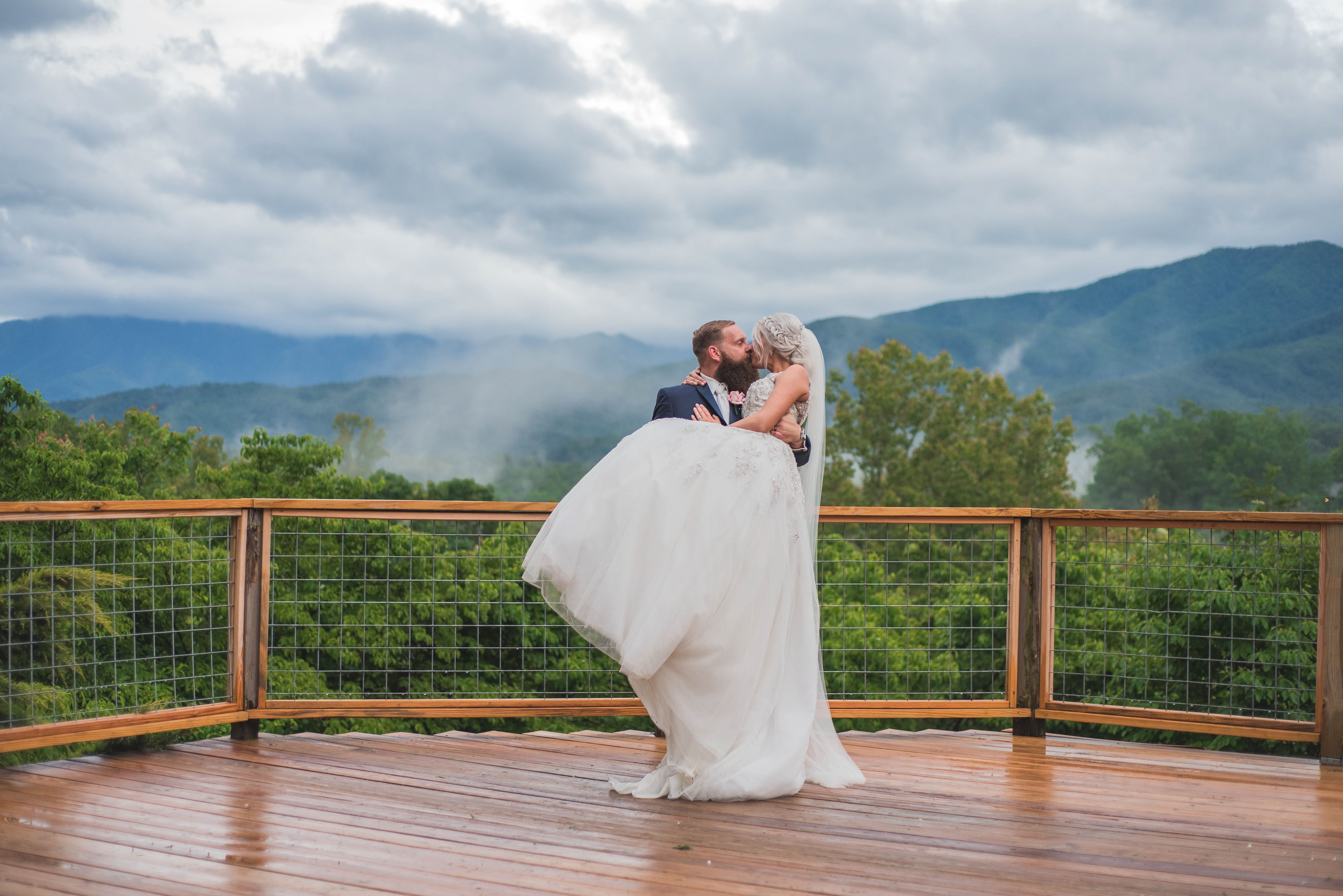 Above the mist weddings events mountain view venue in