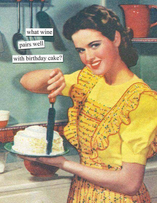 Happy Birthday Meme Girl Wine