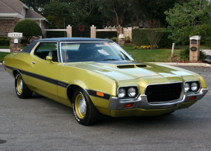 1972 Ford Gran Torino Sport Ford Torino Classic Cars Muscle