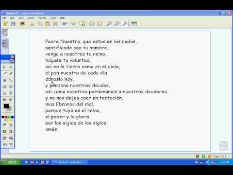Padre Nuestro Lord S Prayer In Spanish Prayers