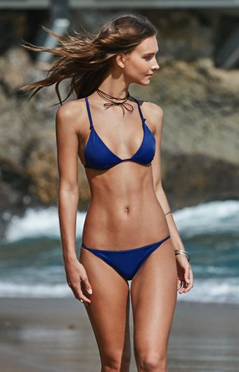 670eb4368d1 Make a splash in an undeniable look from LA Hearts. The Knotted Bralette  Bikini…