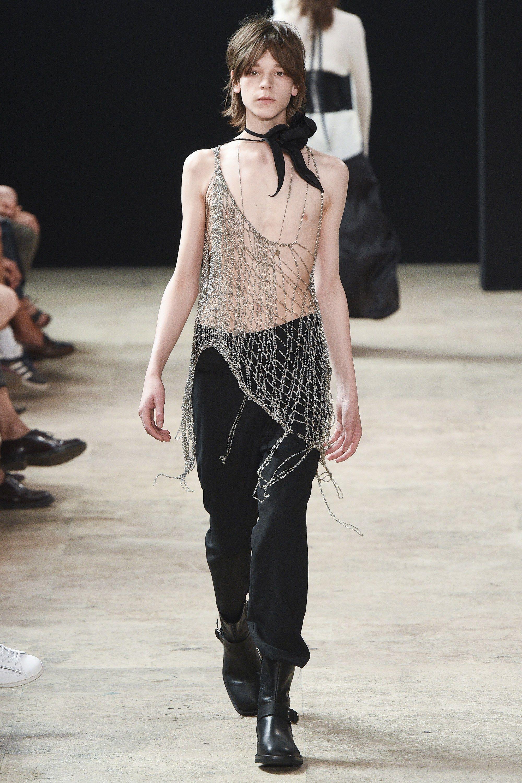 Ann Demeulemeester Spring 2018 Menswear Fashion Sh