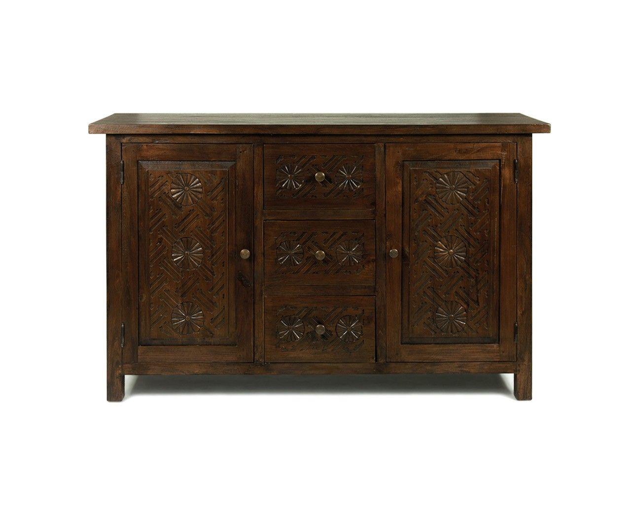 Credenza Dark Wood : Dark wood sideboard