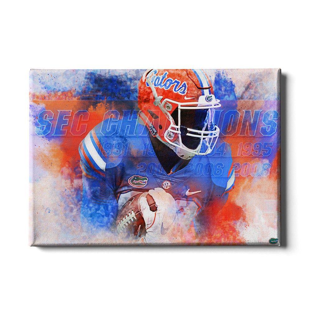 Florida Gators Sec Champs The Swamp Gator Football Etsy In 2020 Football Wall Art Eagle Wall Art Wall Art Florida