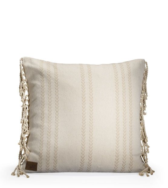 Coastal Stripe Pillow-20""