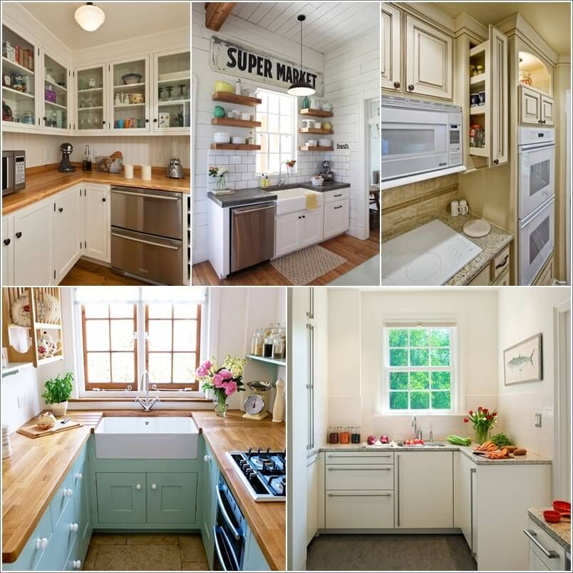 Make A Small Kitchen Look Bigger With These Tips And