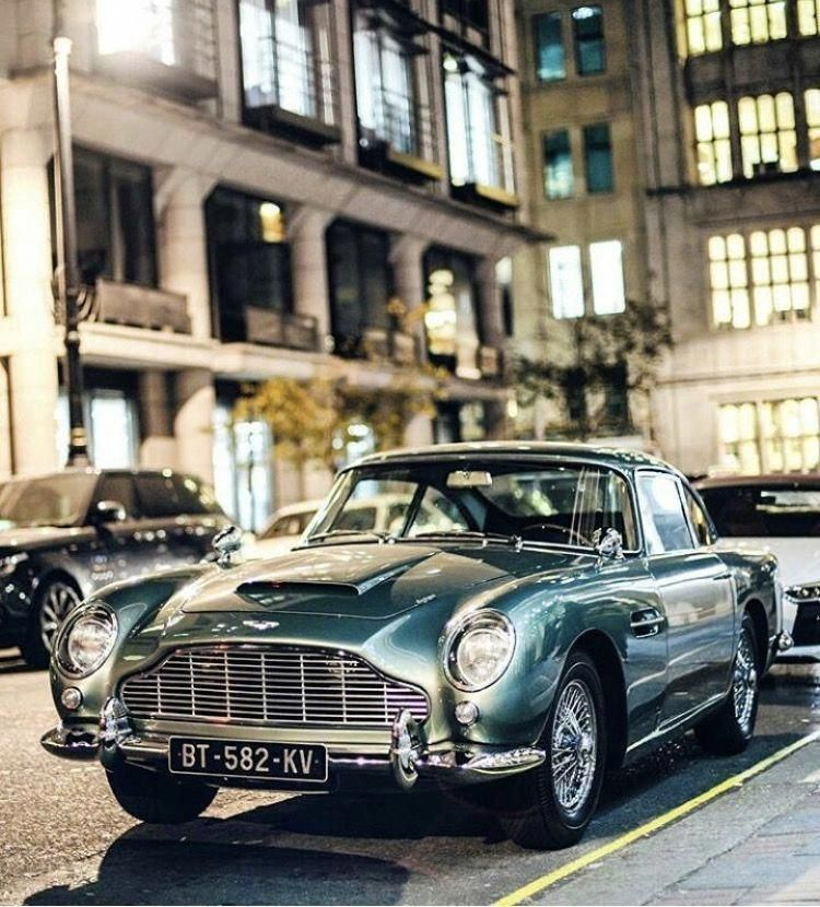 Aston Martin DB5 #AstonMartinclassiccars