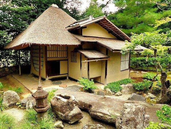 This Unique Type Of Door Called Nijiriguchi Which Is Translated As Crawling In Entrance Require Japanese House Japanese Tea House Traditional Architecture