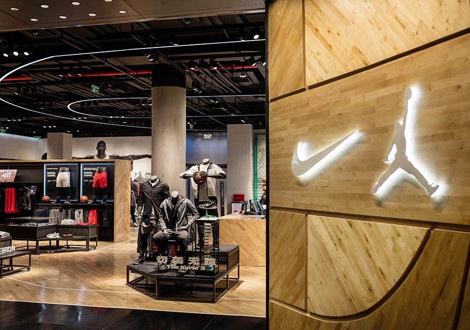 #sneakers #news Nike And Jordan Open Beijing Store Dedicated To Basketball