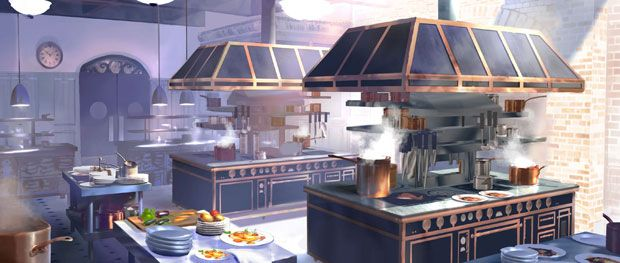 Kitchen ratatouille cerca con google reel reference for Kitchen set environment