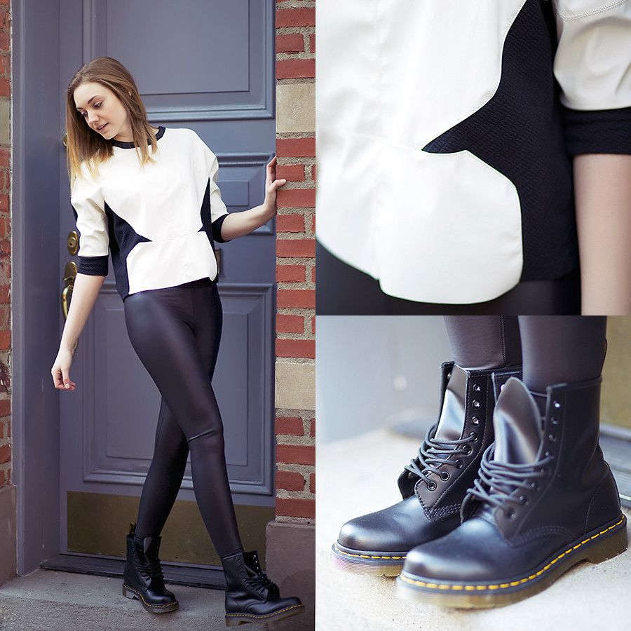 Model What To Wear With Doc Martens The Best Way To Wear Dr Martens Boots
