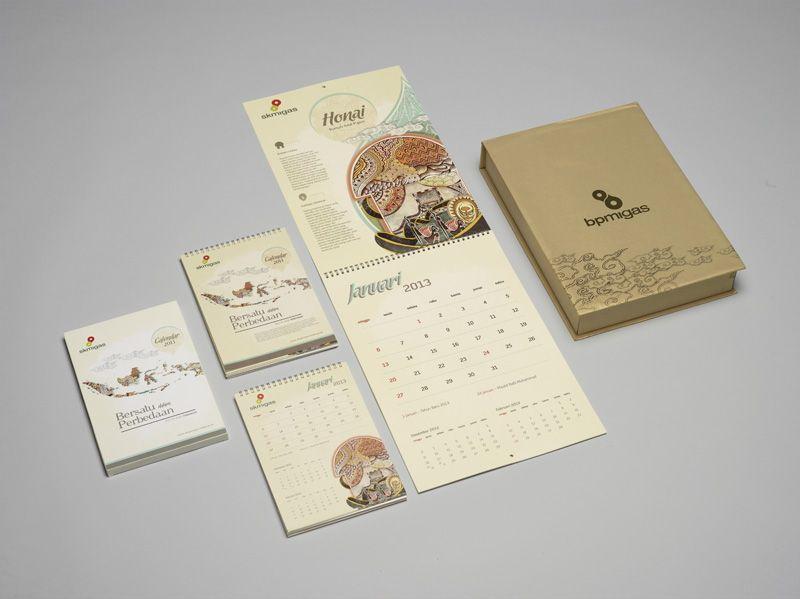Desain Kalender - SK MIGAS | Desain, Desainer grafis, Kalender