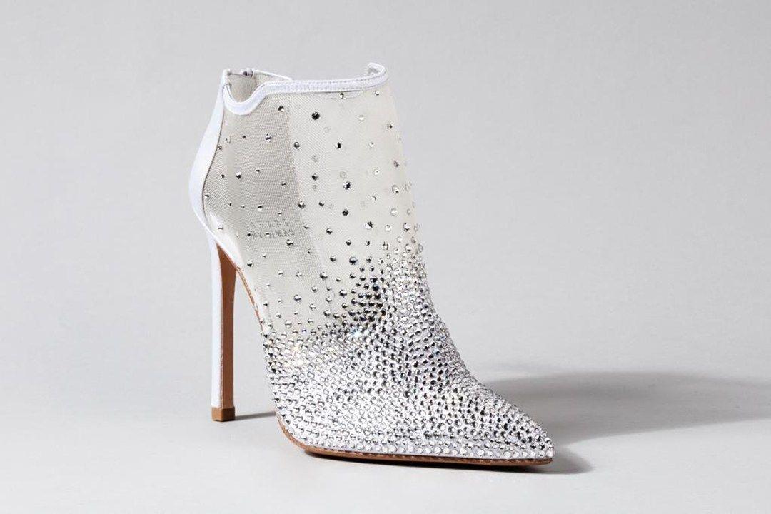 Cinderella's New Designer Slippers - Stuart Weitzman