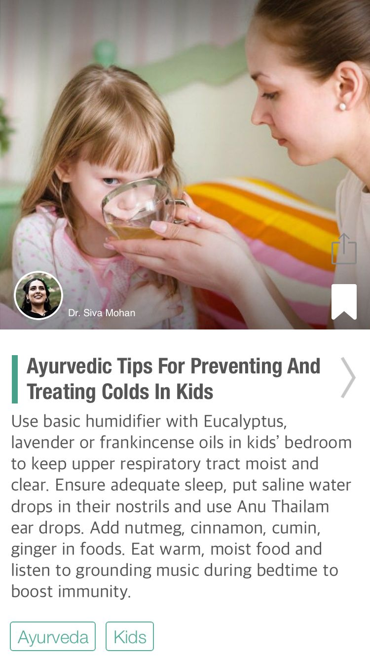 Home Remedies to Keep Cold Away From Kids  Alternative medicine