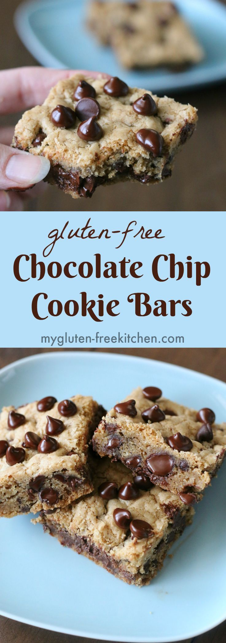 Gluten Free Chocolate Chip Cookie Bars Recipe Easy