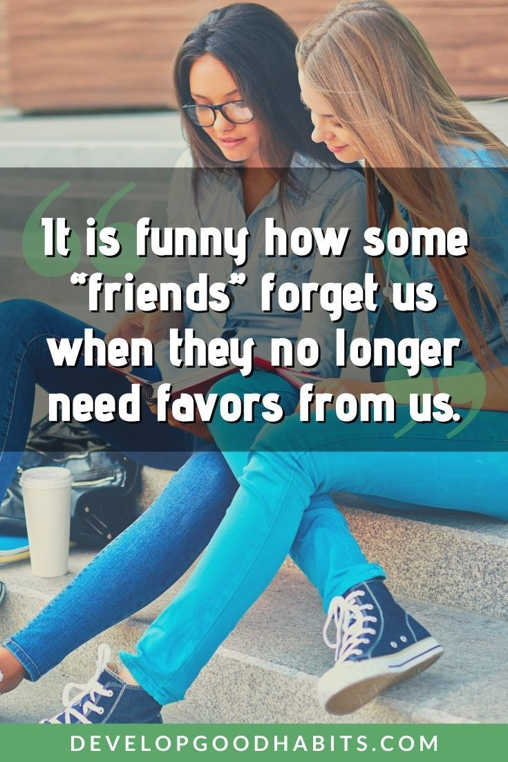 The Truth About Fake Friends