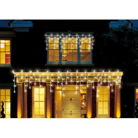 Led Christmas Lights Walmart.Holiday Time 450 Count Led Cool Icicle Christmas Lights