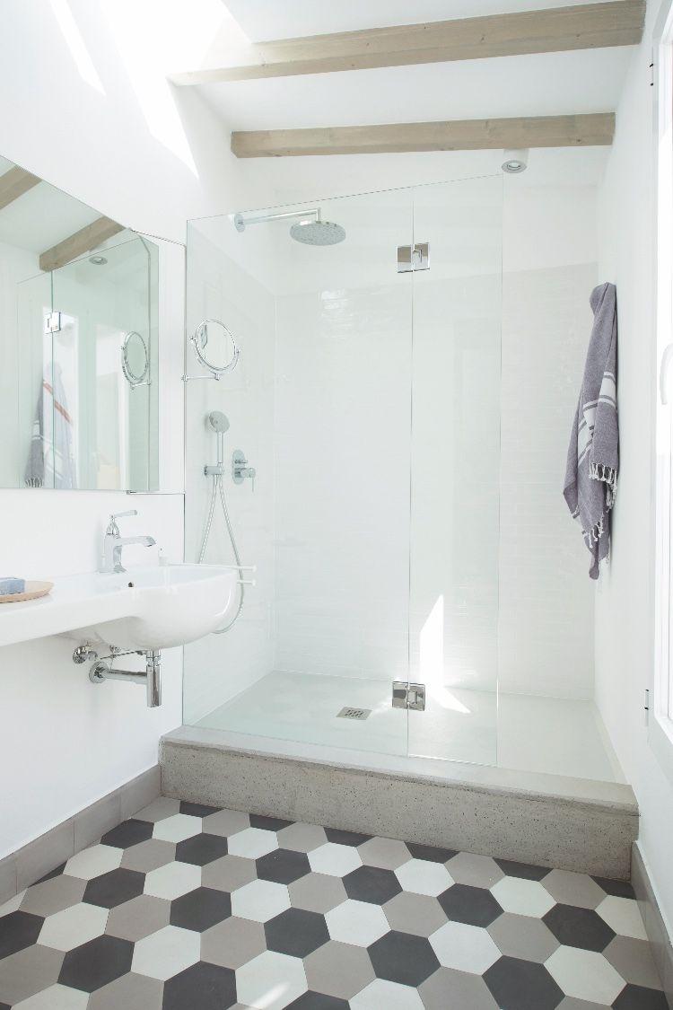 Fliesen Platten Zementmosaikplatten Badezimmer Mit Mosaik