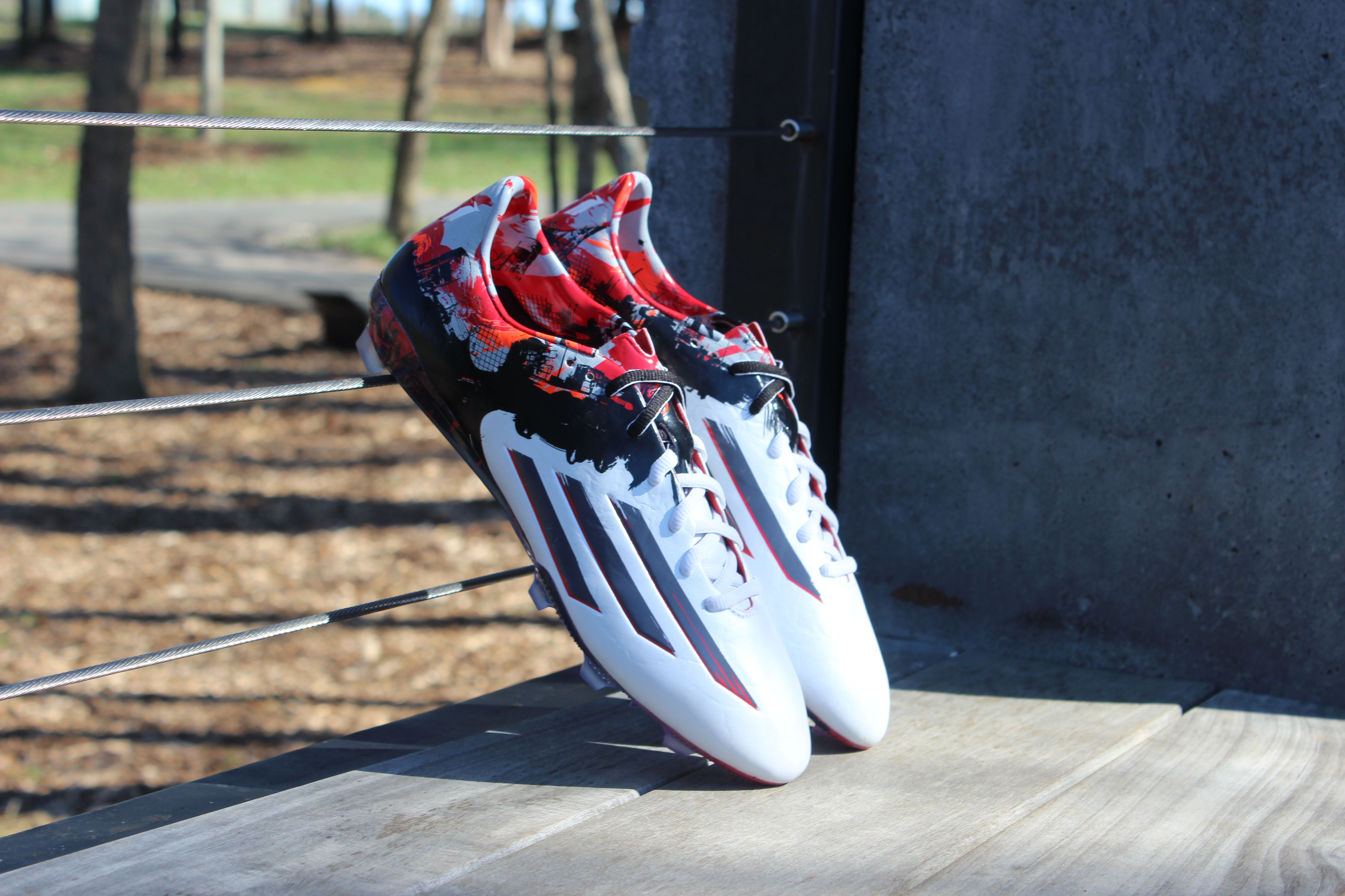 00638aa01 Go from the streets to the top. The newest Leo Messi signature cleat from  adidas.