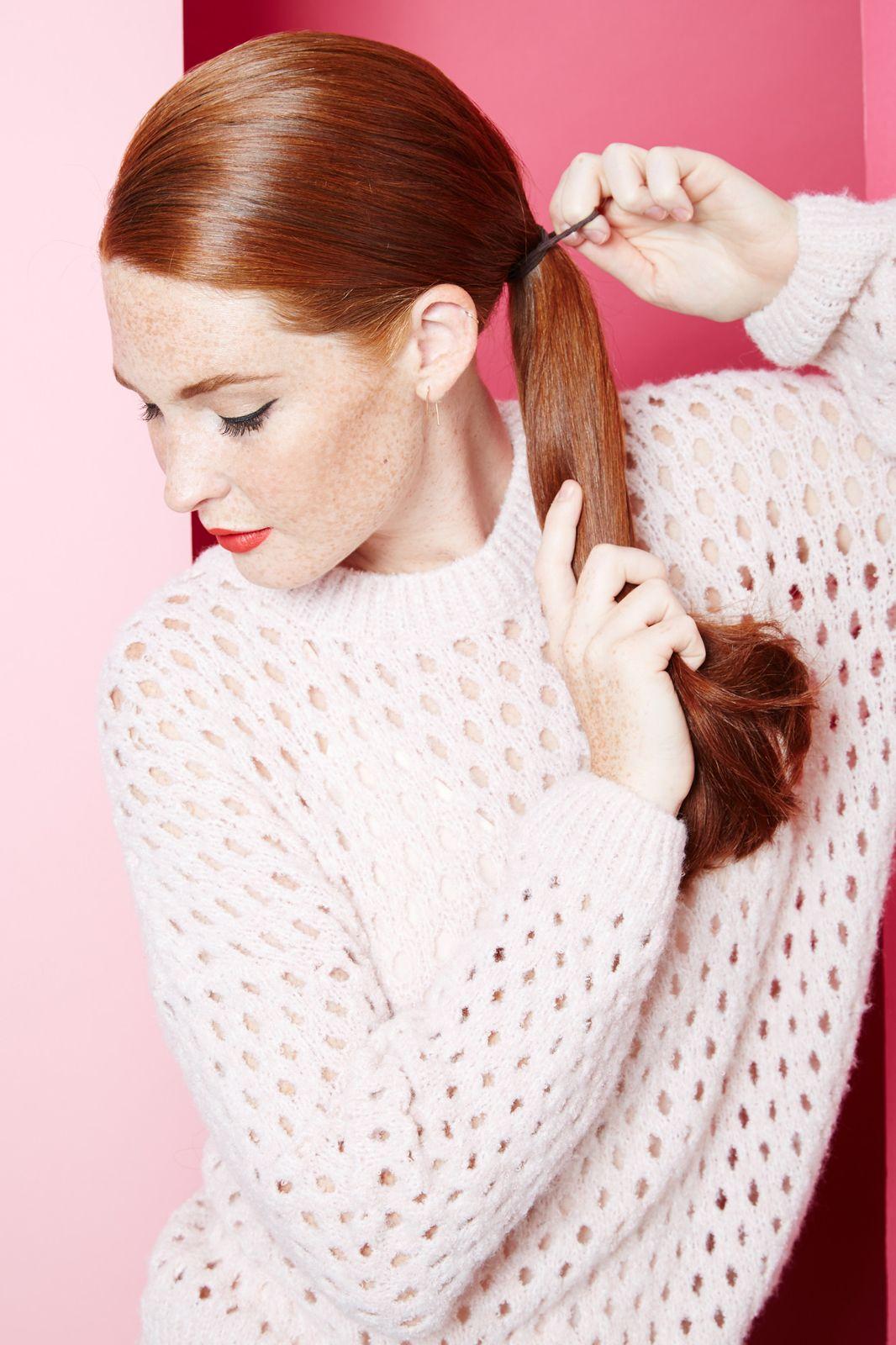 Hair weave fabric diy creative new looks