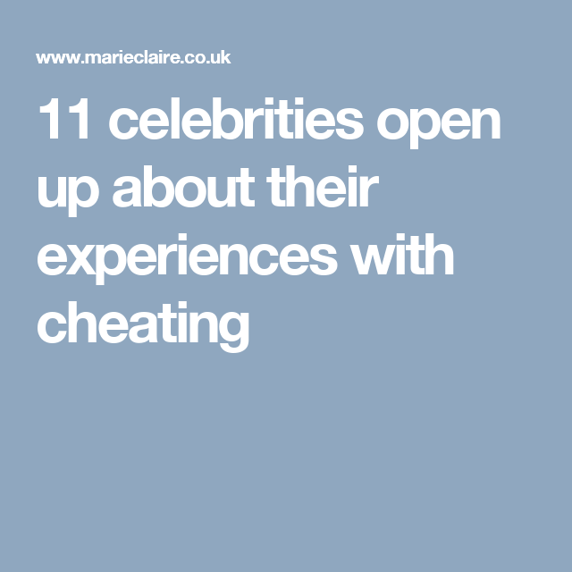 Quotes About Cheating 11 Very Human Celebrity Quotes On Cheating