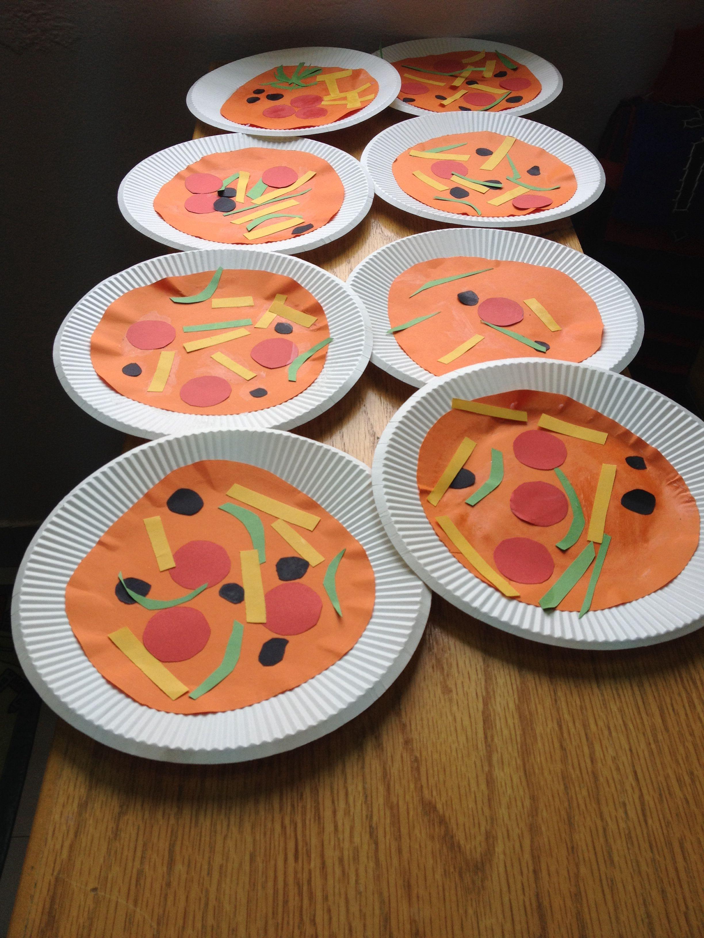 بيزاااا Crafts Art Tableware