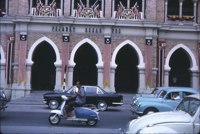 vintage everyday: Color Photos of Kuala Lumpur, Malaysia in 1964
