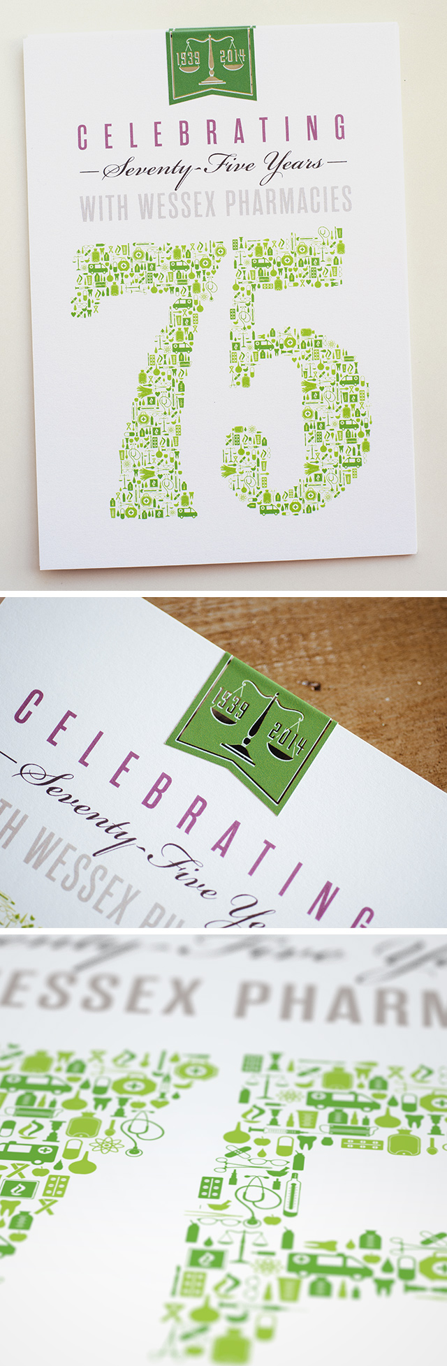 Anniversary Invitations for a 75-Year-Old Business | Adobe ...