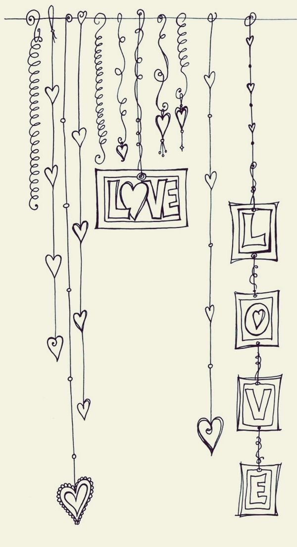 45 Creative Doodle Art Tutorials and Examples | Pinterest | Tagebuch ...