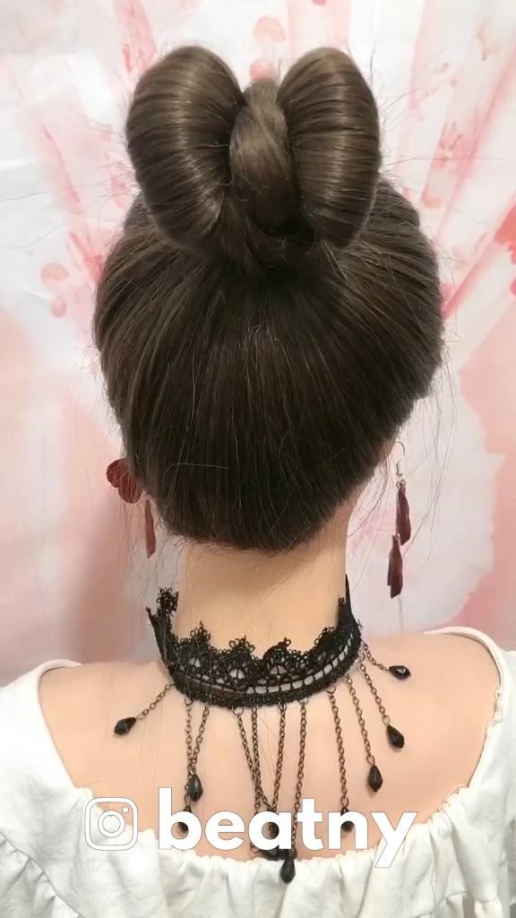 Easy Hair Braid Idea 50 -   13 hair Drawing updo ideas