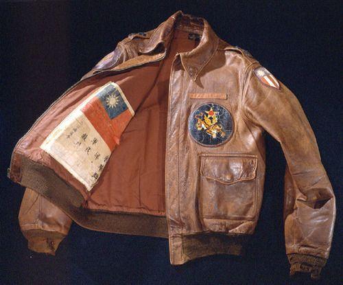 #heritage #WWII #blood chit #flight #jacket
